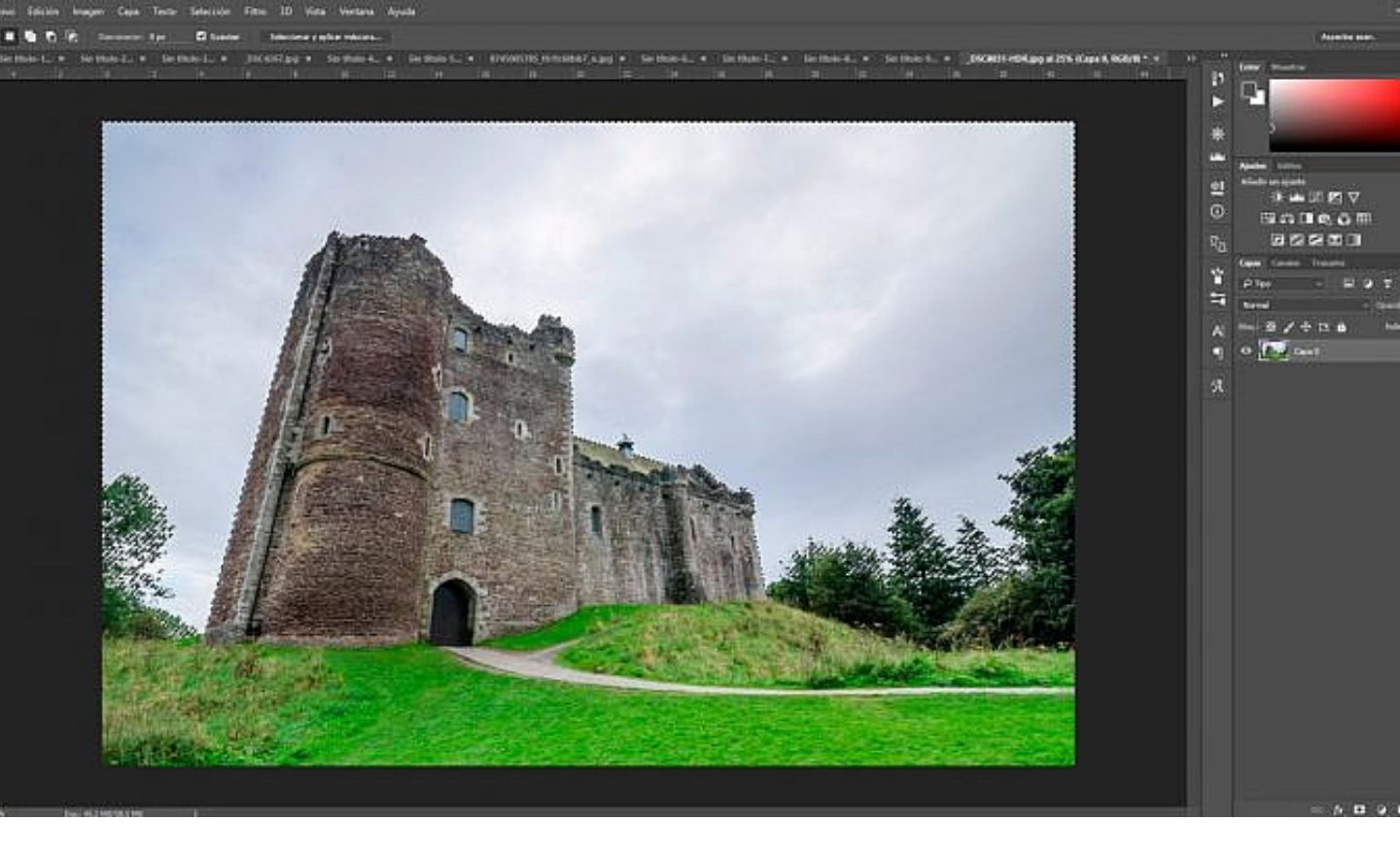 how to remove white background from Image in Photoshop