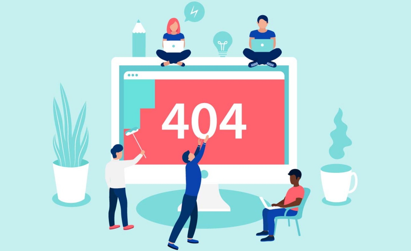 create 404 page with elementor