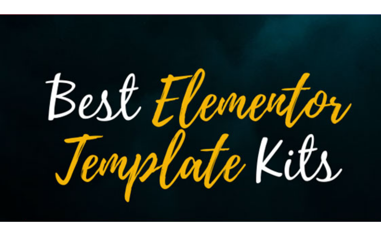 how to use elementor template