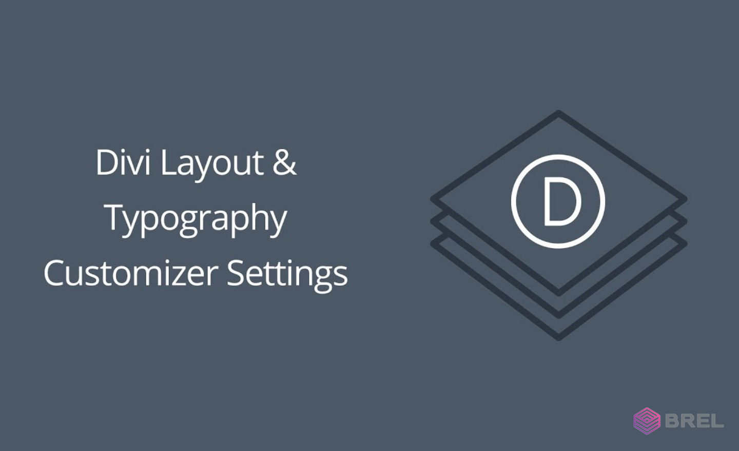 customize typography and layout divi