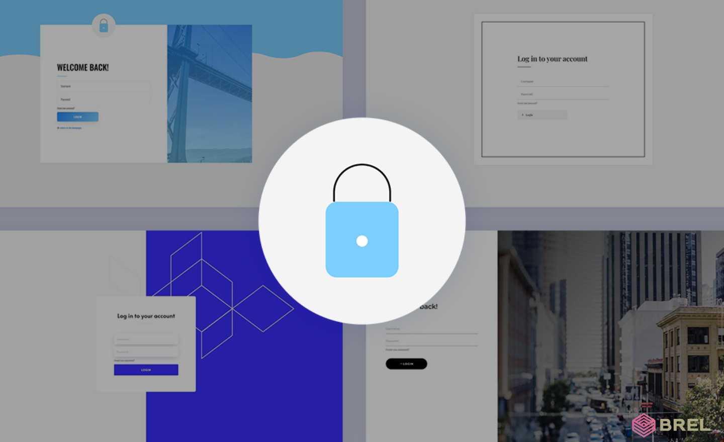 personalized login page divi