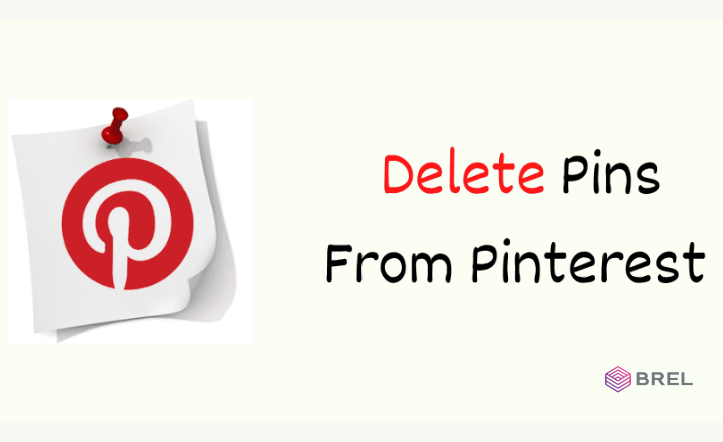 How to delete a pin on Pinterest