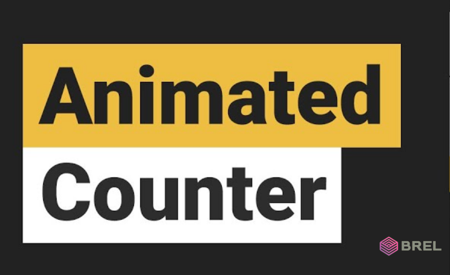 animated counters